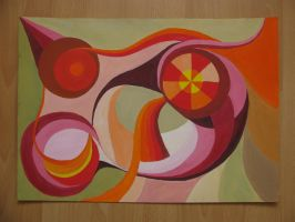 composition with warm colors by Infinitely