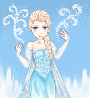 Elsa by PastelApples