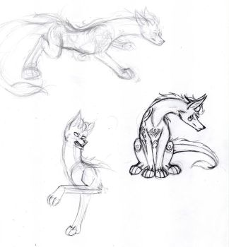 Zein Sketches (2/2) by WhenWolvesCryOut