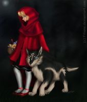 Red riding hood... by Filiana