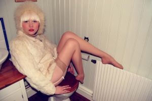 Vintage fur by fittfeminist