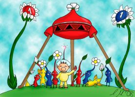 Pikmin by Cariola