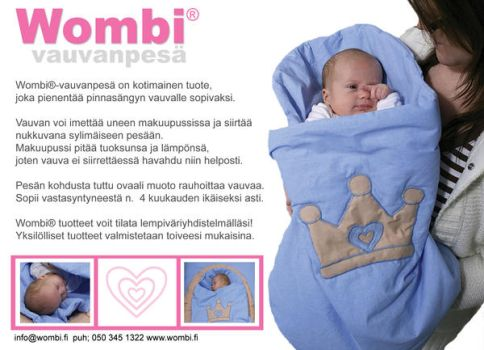 Wombi babybed by Chine