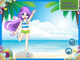 Little Winx in Beach by willbeyou
