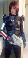 Commander Shepard - Mass Effect 3 by Quartknee