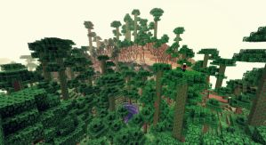 Minecraft - Une jungle faite-main by AleksCube