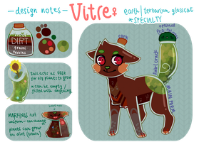 character sheet - vitre by fxerie