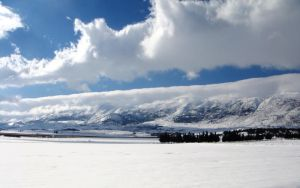 Bekaa in snow 1 by NasNuvens12