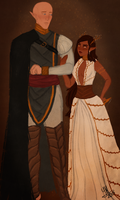 Solas and Lupita by ymeza31