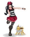 Pokemon X Trainer Candey by Cantrona