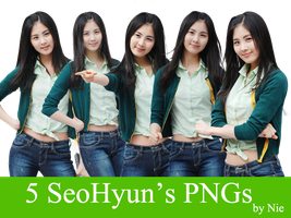 [Resources]SeoHyun_Png_Pack_byNie by Nie0712