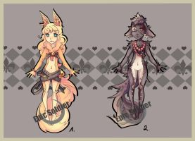 Humanoid adoptables 2 (closed) by Epic-Soldier