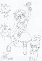 Star vs. The Forces of Evil doodle by MasterofDoodlez