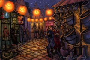 Bazaar for Descent by feliciacano
