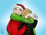 Soul Eater-Happy Holidays by FlashyFashionFraud