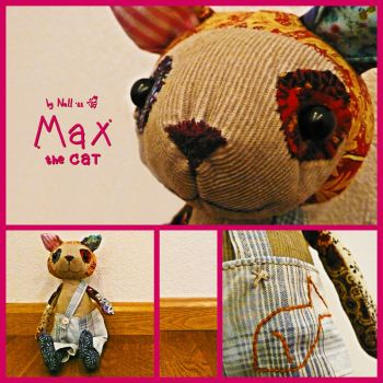 Max the Cat by Nell80