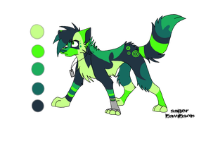 Design Commission Toxin by Flame-Expression