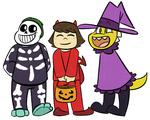Trick or Treating 'Talers by Noobynewt