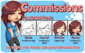 Commission Info by DablurArt