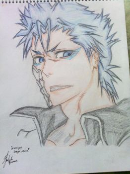 :Grimmjow Jaegerjaques: by Uchiha-Evelene18