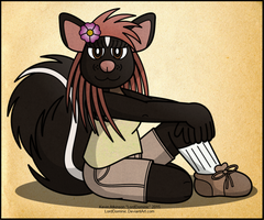 Just a Skunk by LordDominic