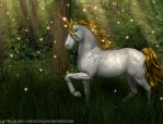 Forest Sparkle by lady-cybercat