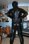 Me in my black zentai 2 by AxelWolf04