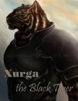 Xurga the Black Tiger by Aede-chan