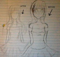 Before and after by UuuuwwwwuuuU