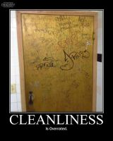 Cleanliness -demotivation- by Dragunov-EX