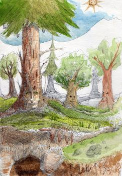 Ents by quipsterix