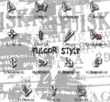 Cursors: Fulgor Style by Hard-100