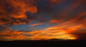 Front Range Sunset by johnnie2bad