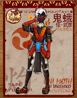 Pokimono Application: Takehiko the Volcarona by Madomon