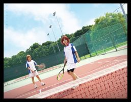 Seigaku Dream Pair by Cvy