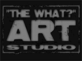 The what art studio logo by mirul