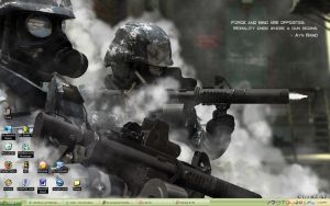 My Call of Duty 4 Screen by Masterauron