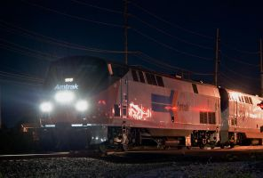amtrak 30 with the 156 by wolvesone