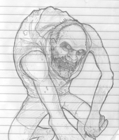 L4D2 - Jockey Sketch by b-dangerous