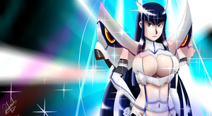 Shining Satsuki by AxelTherion