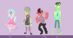 A batch of monster adopts }{Open Auction}{ by OreoDeath