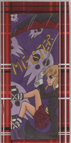 Maka bookmark by VickyViolet