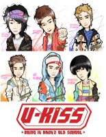 Ukiss bring it back 2 old school by yuisama