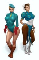 sf girls by 0mad