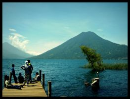 Los Muchachos of Lake Atitlan by emirasmussen