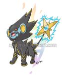 Day 284 - Mega Luxray by Xyrten