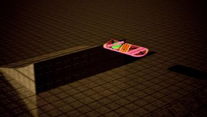 Hoverboard mid-flight by tom55200
