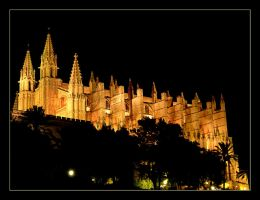 La Seou Cathedral In Palma - 1 by skarzynscy