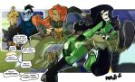 They Fight Alot - Kim Vs Shego by herms85