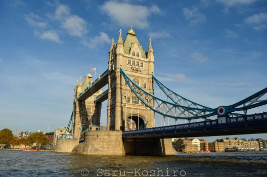 Tower Bridge - London by Saru-Koshiro